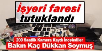 POLİS, 200 SAATLİK KAMERA, PTS VE MOBESE KAMERASI KAYITLARININ İNCELEYEREK YAKALADI