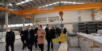 VALİ ŞENTÜRK'TEN  ZİYARET