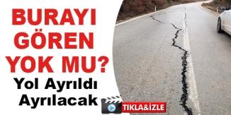 YOL AYRILDI AYRILACAK
