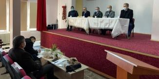 BİLECİK'TE İLÇE MİLLİ EĞİTİM MÜDÜRLERİ İSTİŞARE TOPLANTISI YAPILDI