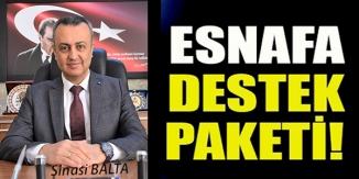 ESNAFA DESTEK PAKETİ