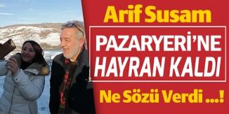PAZAR YERİNE HAYRAN KALDI