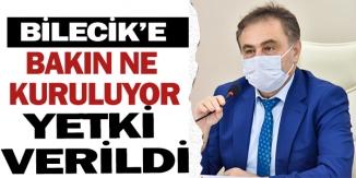 BİLECİK'E BAKIN NE KURULUYOR !