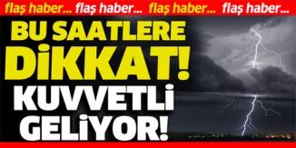 METEOROLOJİDEN BİLECİK İÇİN 'KUVVETLİ FIRTINA' UYARISI