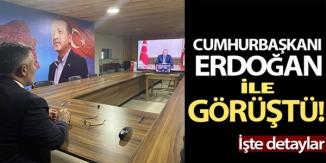 CUMHURBAŞKANI ERDOĞAN'IN DA KATILDIĞI VİDEO KONFERANS TOPLANTISINDA YER ALDI