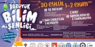 'BOZÜYÜK BİLİM ŞENLİĞİ' BAŞLIYOR