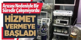 HİZMET VERMEYE BAŞLADI