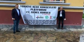 BAŞKAN ÖZGEN 27'İNCİ GENEL KURULA KATILDI