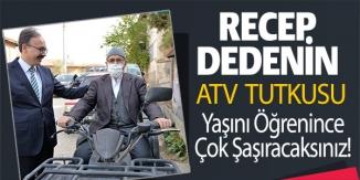 RECEP DEDENİN ATV TUTKUSU