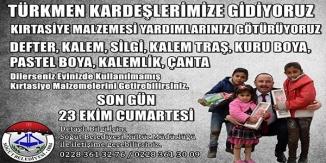"""""""TÜRKMEN KARDEŞLERİMİZE GİDİYORUZ"""""""