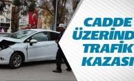 KORKUTAN TRAFİK KAZASINDA ÖLEN VEYA YARALANAN OLMADI