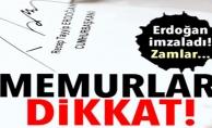 MEMURLAR DİKKAT '!