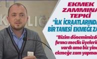 EKMEK ZAMMINA TEPKİ