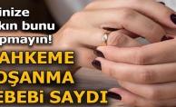 EŞİNİZE SAKIN BUNU YAPMAYIN !