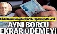 """TAKSİTLİ ALIŞVERİŞLERDE """"TEK SENET"""" UYARISI"""