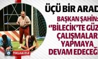 """TİYATRO GÜNLERİ """"ÜÇÜ BİR ARADA"""" ADLI OYUNLA SONA ERDİ"""