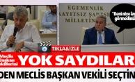 MECLİS BAŞKAN VEKİLLERİNİ YOK SAYDILAR !
