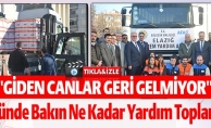 ''GİDEN CANLAR GERİ GELMİYOR'' 3 GÜNDE BAKIN NE KADAR YARDIM TOPLANDI