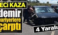 FECİ KAZA! 4 YARALI