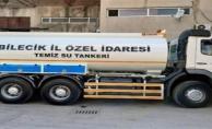 15 TON KAPASİTELİ SU TANKERİ ALINDI