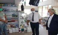 OSMANELİ'DE KORONA VİRÜS DENETİMİ