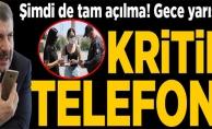 FAHRETTİN KOCA#039;DAN GECE YARISI KRİTİK TELEFON GÖRÜŞMESİ!