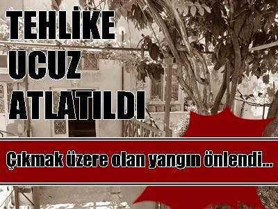 TEHLİKE UCUZ ATLATILDI