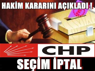 SEÇİM İPTAL EDİLDİ !