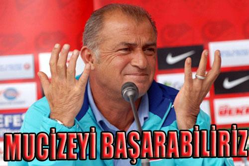 MUCİZEYİ KOVALIYORUZ...