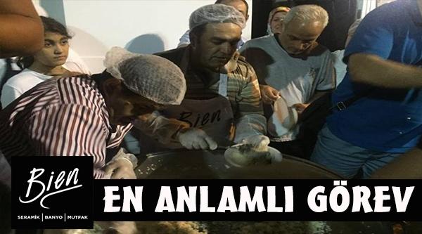 BİEN SERAMİK'TEN DEMOKRASİ NÖBETİNE DESTEK