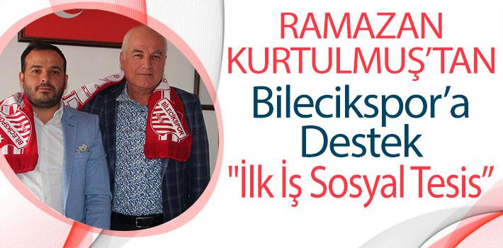 BİLECİKLİ İŞ ADAMINDAN BİLECİKSPOR'A DESTEK