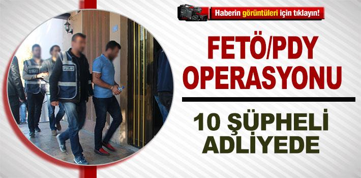 BİLECİK'TE FETÖ/PDY OPERASYONUNDA GÖZALTINA ALINAN 10 ŞÜPHELİ ADLİYEYE ÇIKARILDI