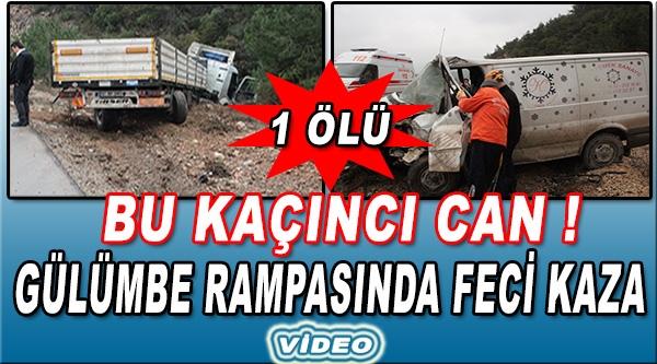 BİLECİK'TE MEYDANA GELEN TRAFİK KAZASINDA 1 KİŞİ ÖLDÜ