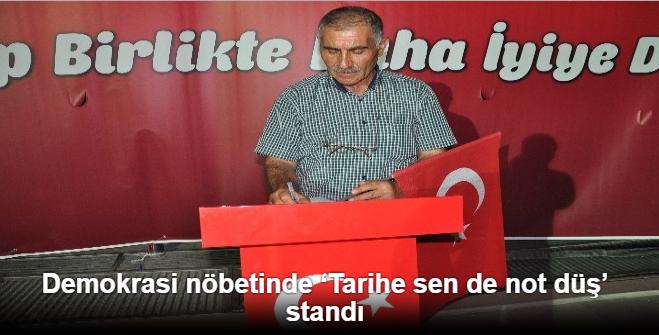 BİLECİK'TE 'TARİHE SEN DE NOT DÜŞ' STANDI