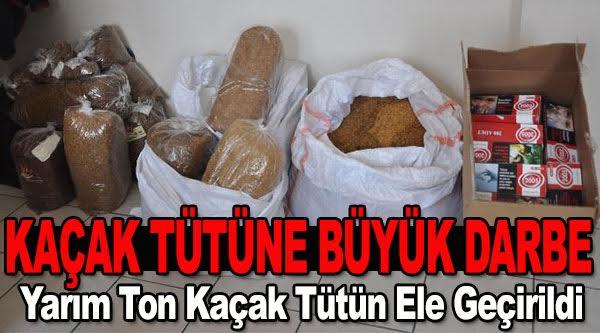 BOZÜYÜK'TE KAÇAK SİGARA OPERASYONU