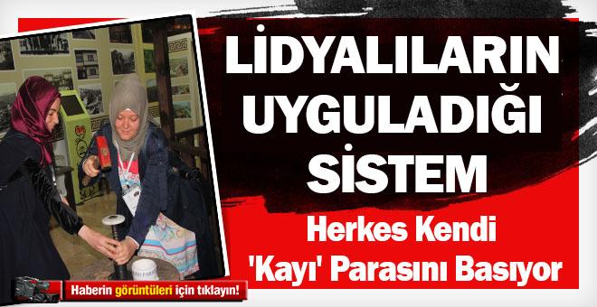 BU MÜZEYE GELEN HERKES KENDİ 'KAYI' PARASINI BASIYOR