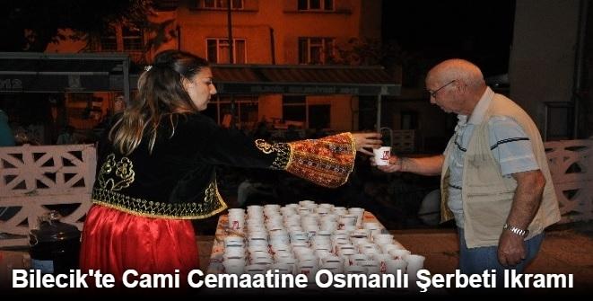 CAMİ CEMAATİNE OSMANLI ŞERBETİ