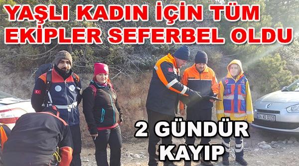 EŞEKLE 'KOZALAK TOPLAMAYA GİDİYORUM' DEDİ, 2 GÜNDÜR KAYIP