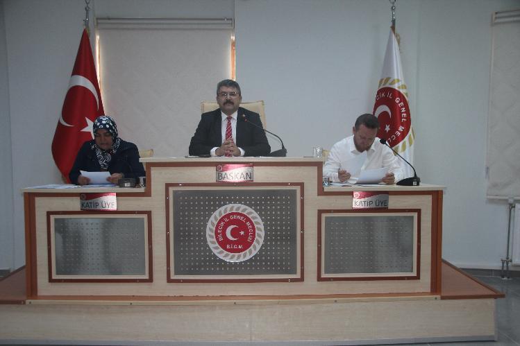 İL GENEL MECLİSİ AĞUSTOS AYI 4'ÜNCÜ BİRLEŞİMİ YAPILDI