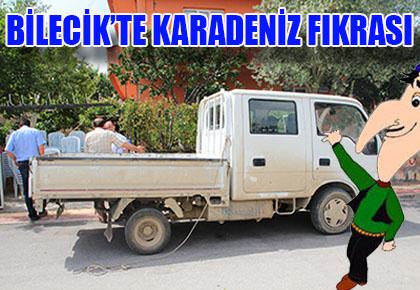 BİLECİK'TE KARADENİZ FIKRASI
