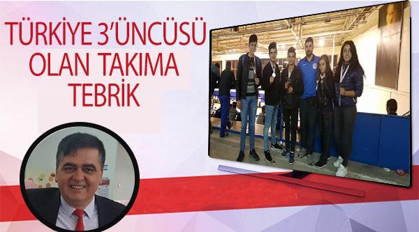 PAZARYERİSPOR KİCK BOKS TAKIMI TÜRKİYE 3'ÜNCÜSÜ OLDU