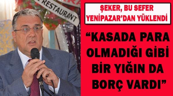 ŞEKER, BU SEFER YENİPAZAR'DAN YÜKLENDİ