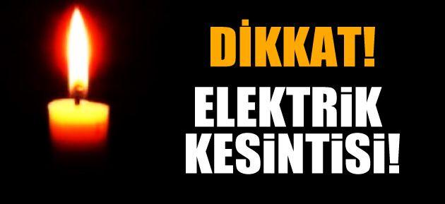 VEZİRHAN'DA ELEKTRİK KESİNTİSİ