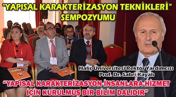 YAPISAL KARAKTERİZASYON TEKNİKLERİ SEMPOZYUMU