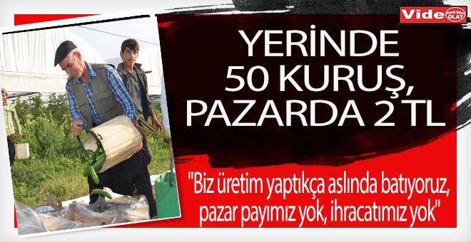 YERİNDE 50 KURUŞ, PAZARDA 2 TL