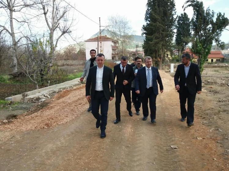 VALİ BÜYÜKAKIN'DAN VEZİRHAN'DA İNCELEME