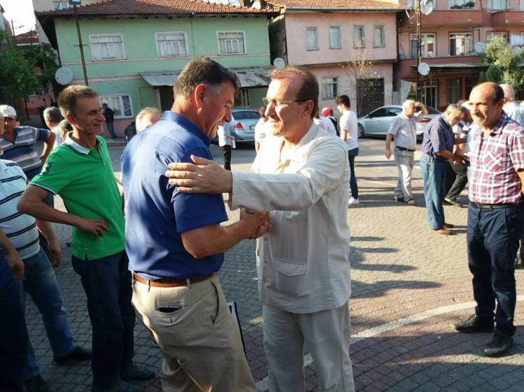 VEZİRHAN'DAN KUTSAL TOPRAKLARA GİDEN HACI ADAYLARI UĞURLANDI