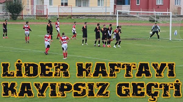 VİTRASPOR 24'ÜNCÜ HAFTAYI KAYIPSIZ GEÇTİ
