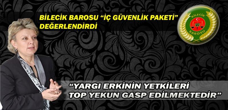 """""""YARGI ERKİNİN YETKİLERİ TOP YEKUN GASP EDİLMEKTEDİR"""""""